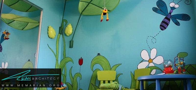 همه چیز درباره کاغذ دیواری و پوستر دیواری اتاق کودک (3)