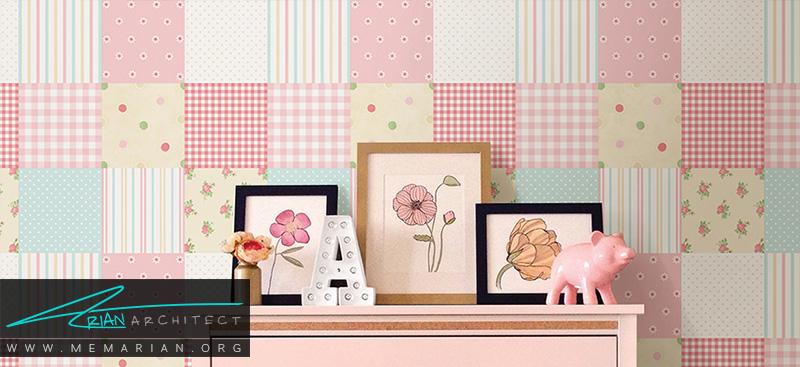 همه چیز درباره کاغذ دیواری و پوستر دیواری اتاق کودک (4)