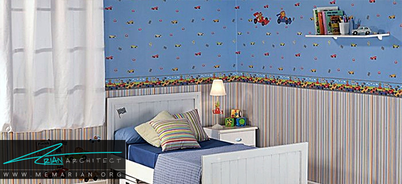همه چیز درباره کاغذ دیواری و پوستر دیواری اتاق کودک (7)