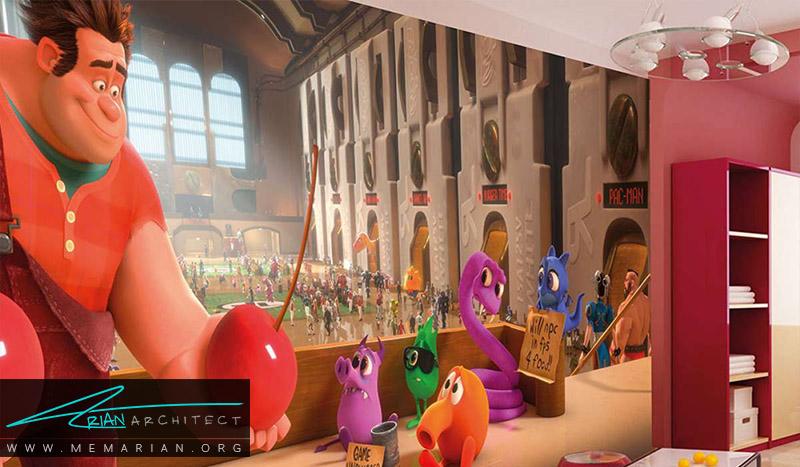 نمونه پوستر دیواری اتاق کودک (4)