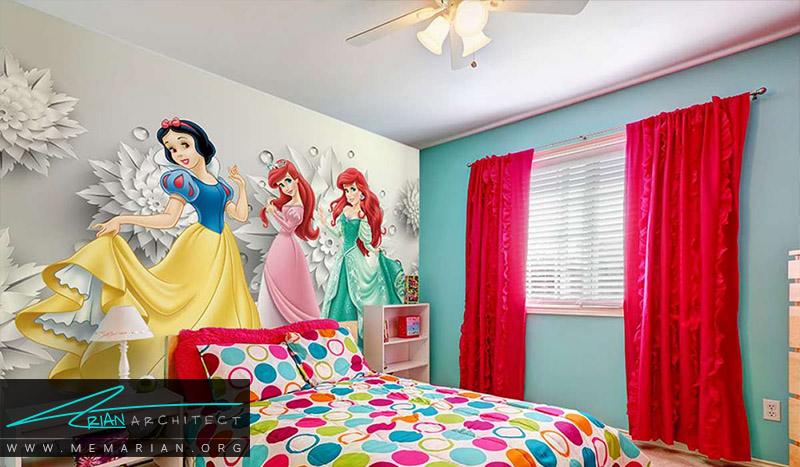 نمونه پوستر دیواری اتاق کودک (7)