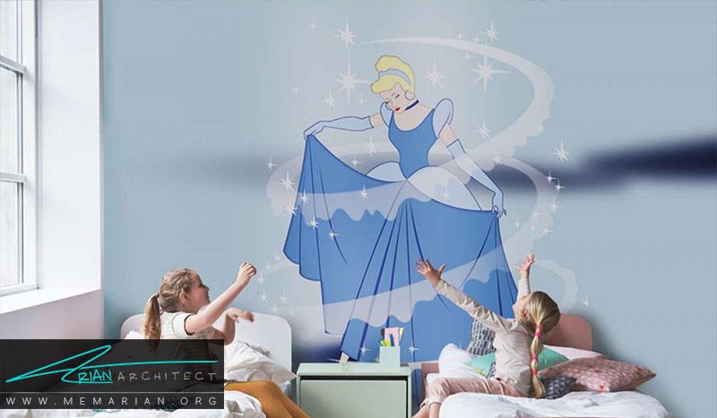 نمونه پوستر دیواری اتاق کودک (10)