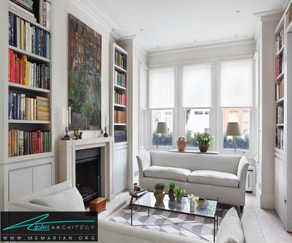 اجازه دهید که با سبک داخلی شما سازگار شود - تزئین پنجره با پرده