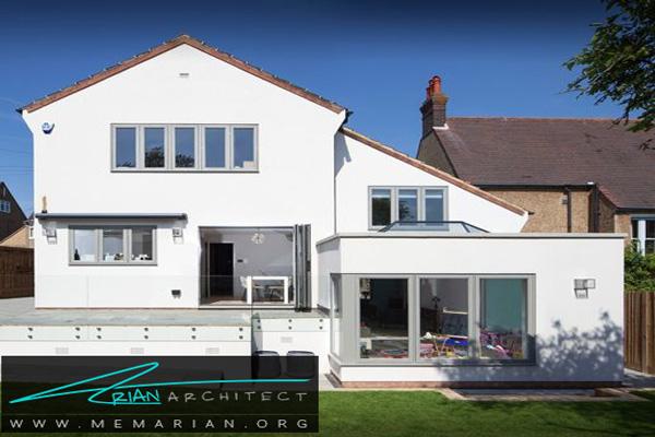 مدرن کردن خانه با قاب پنجره خاکستری - قاب پنجره خاکستری