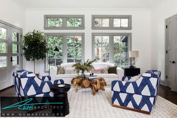 ست رنگ خاکستری با وسایل اتاق - قاب پنجره خاکستری