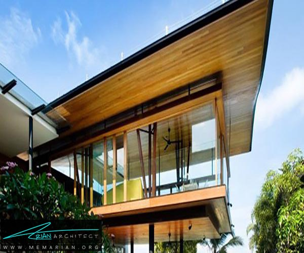 پنجره - ساختمانهای سبز