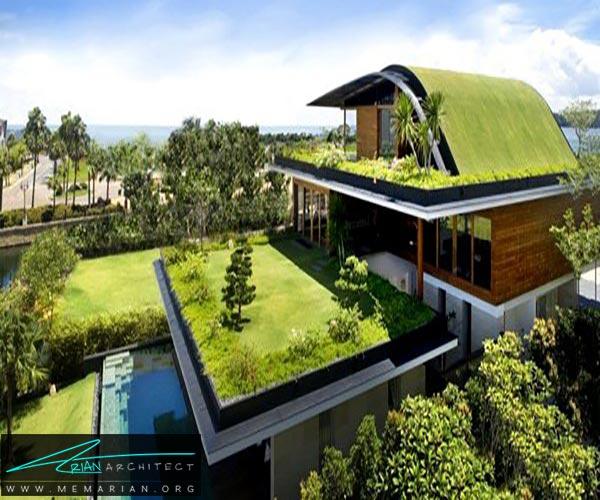 سقف سبز - ساختمانهای سبز