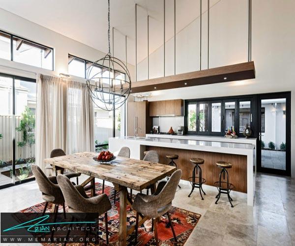 زیبایی گرایی روشن - طراحی کابینت اشپزخانه