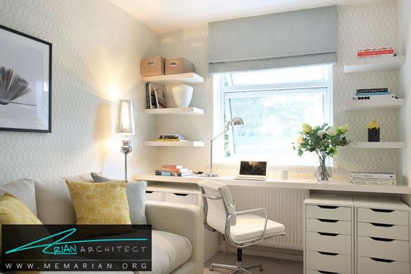 نورپردازی اتاق مطالعه - نورپردازی اتاق ها