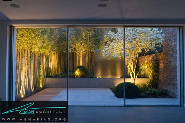 نورپردازی باغ و حیاط - نورپردازی اتاق ها
