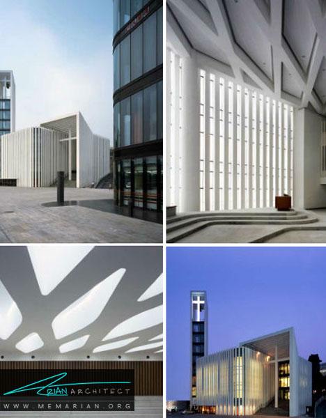 کلیسا کریستین هایداین در پکن, چین - معماری کلیسا مدرن