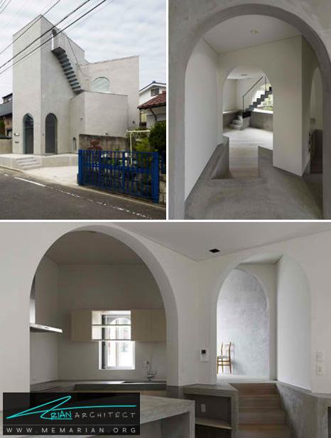 طراحی خانه مونوسورکت توسط ماساتو سکیا - طراحی مدرن خانه های ژاپنی