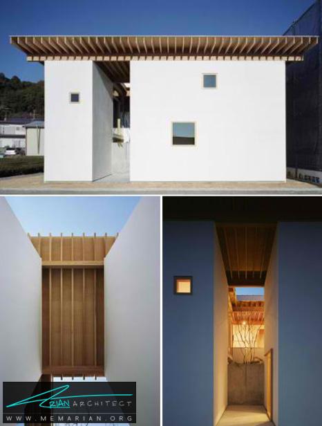 معماری خانه هاناها توسط معمارانسبک mA - طراحی مدرن خانه های ژاپنی