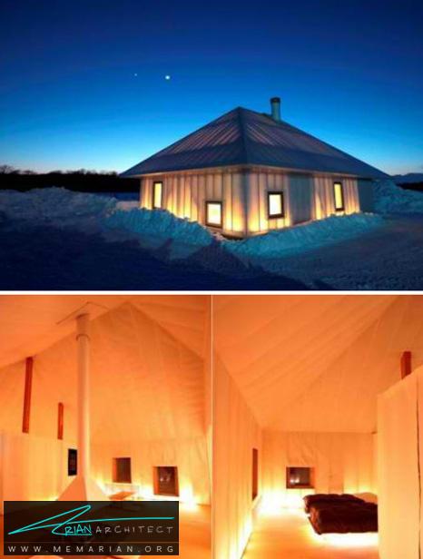 ستاره ای مدرن در میان دشت - طراحی مدرن خانه های ژاپنی