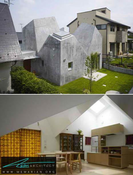معماری خانه ای در کوهوکو توسط تورافو - طراحی مدرن خانه های ژاپنی