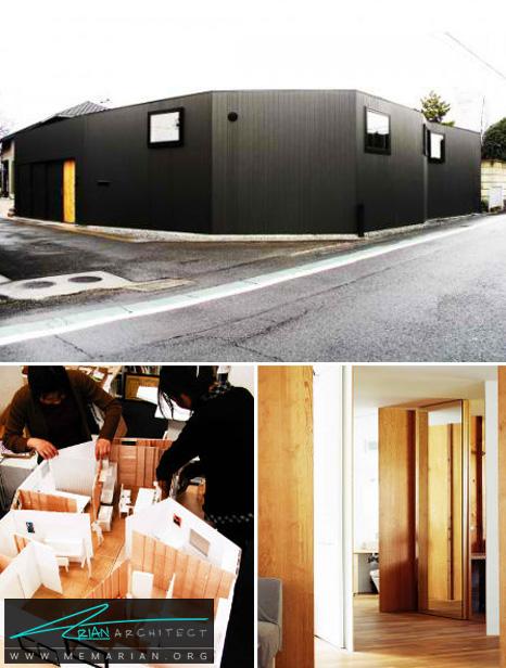 طراحی خانه T توسط معماران سو فوجیموتو - طراحی مدرن خانه های ژاپنی