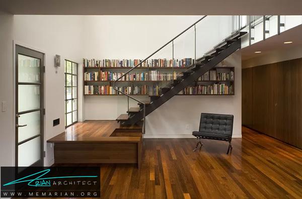 استفاده از دیوار ها برای ایجاد فضای بیشتر - فضای بیشتر در خانه