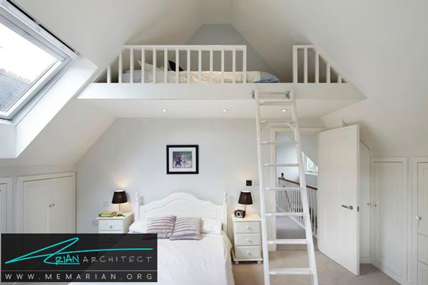 استفاده از فضای بالایی اتاق - فضای بیشتر در خانه