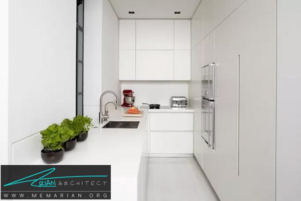 استفاده مناسب از فضای اشپزخانه - فضای بیشتر در خانه