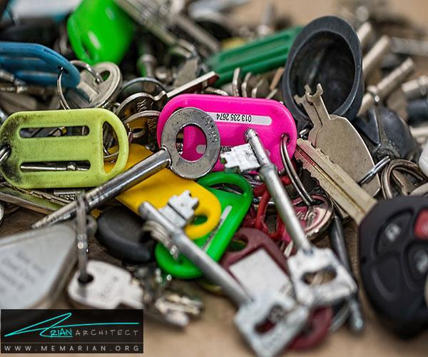 کلیدهای خود را برچسب نزنید - محافظت از خانه