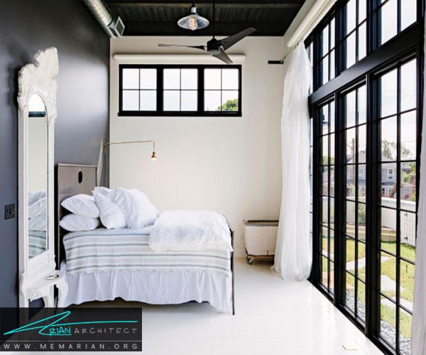 شیشه ایمنی یا میلههای فلزی را نصب کنید - محافظت از خانه