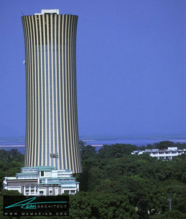 برج نابمبا در شهر برازاویل - 30 مورد از زشت ترین آسمان خراش ها در جهان