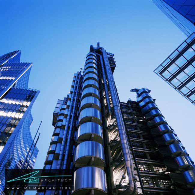ساختمان لوید در لندن - 30 مورد از زشت ترین آسمان خراش ها در جهان