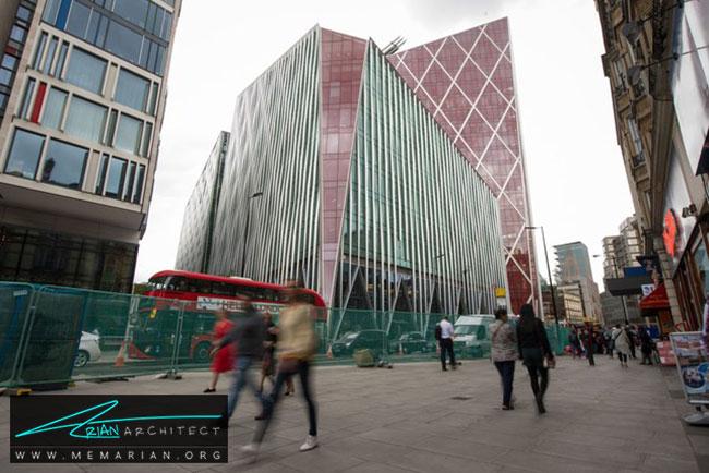 ساختمان نوا ویکتوریا در لندن - 30 مورد از زشت ترین آسمان خراش ها در جهان