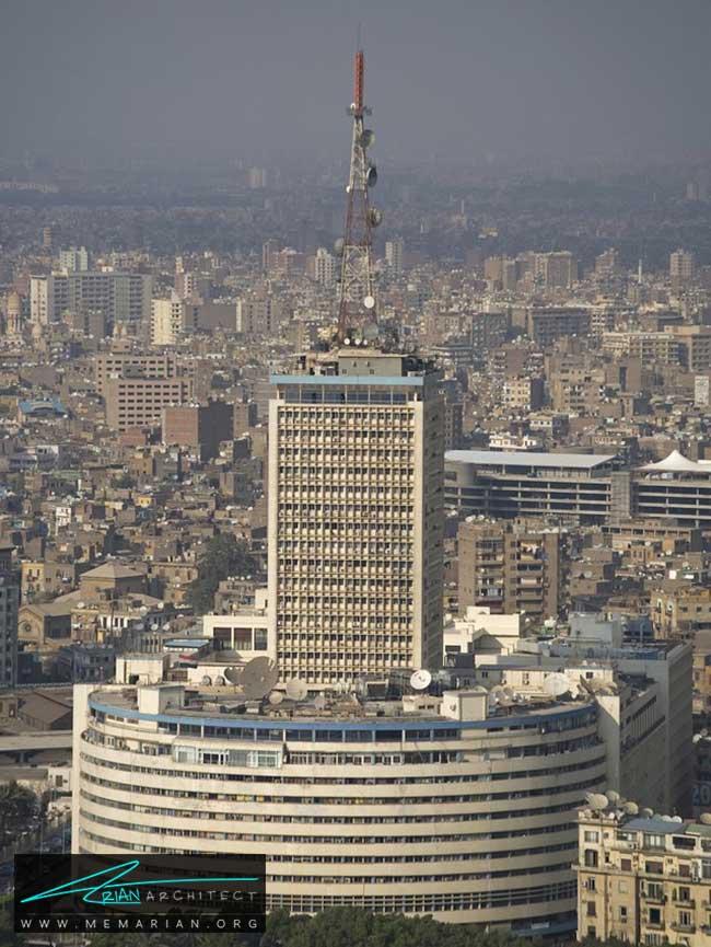 ساختمان رادیو و تلویزیون قاهره - 30 مورد از زشت ترین آسمان خراش ها در جهان