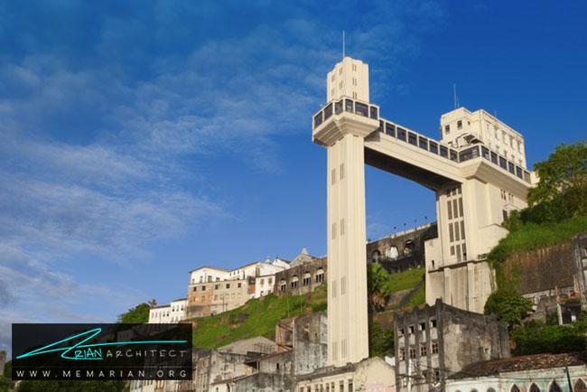 آسانسور لاکردا در برزیل - 30 مورد از زشت ترین آسمان خراش ها در جهان