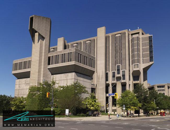 کتابخانه روبارتس در دانشگاه تورنتو - 30 مورد از زشت ترین آسمان خراش ها در جهان