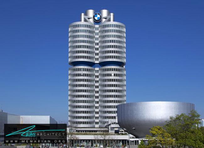 ساختمان مرکزی بی ام و مونیخ - 30 مورد از زشت ترین آسمان خراش ها در جهان