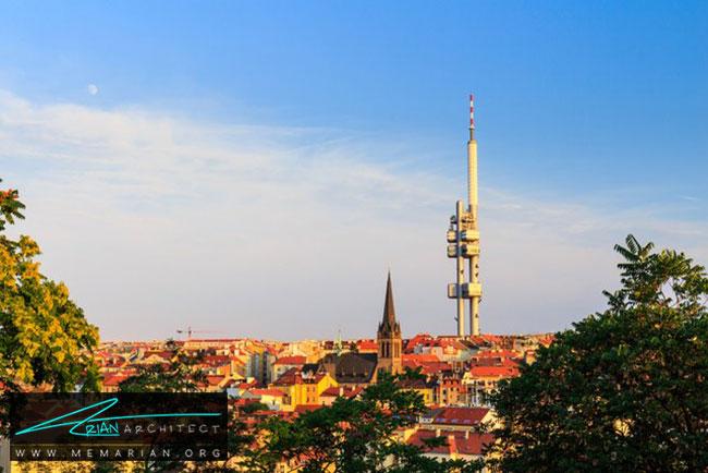 برج تلویزیونی ژیژکوف در پراگ - 30 مورد از زشت ترین آسمان خراش ها در جهان