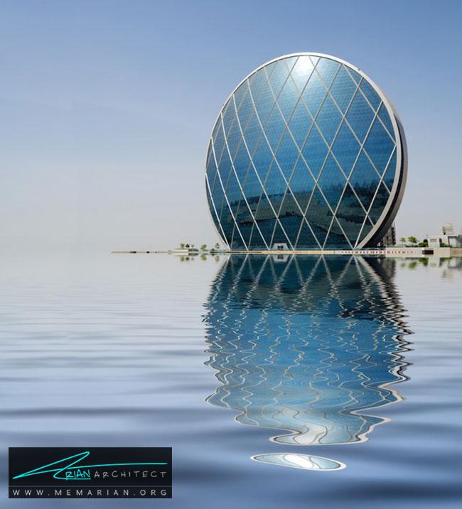 ساختمان الدار در ابوظبی - 30 مورد از زشت ترین آسمان خراش ها در جهان