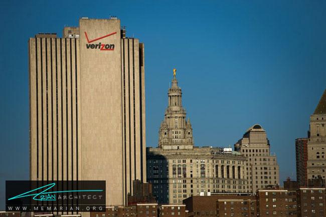 ساختمان ورایزن در نیویورک - 30 مورد از زشت ترین آسمان خراش ها در جهان