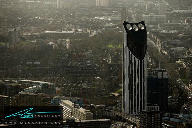آسمان خراش استراتا اسئی۱ در لندن - 30 مورد از زشت ترین آسمان خراش ها در جهان