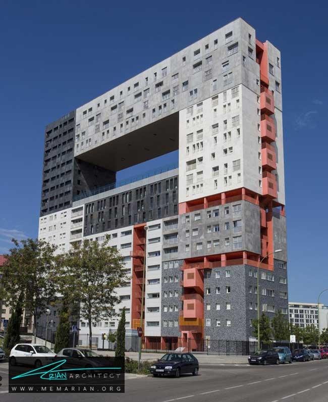 ساختمان میرادور در مادرید - 30 مورد از زشت ترین آسمان خراش ها در جهان