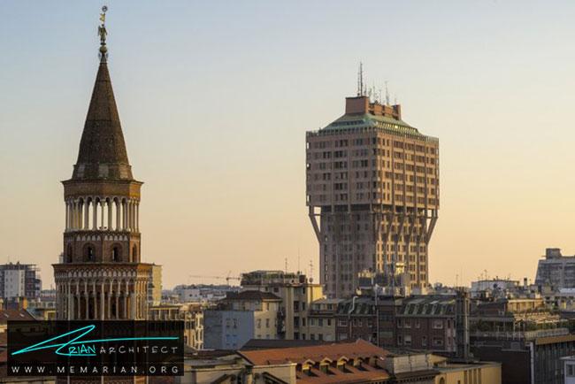 ساختمانتورهولاسکا در میلان - 30 مورد از زشت ترین آسمان خراش ها در جهان