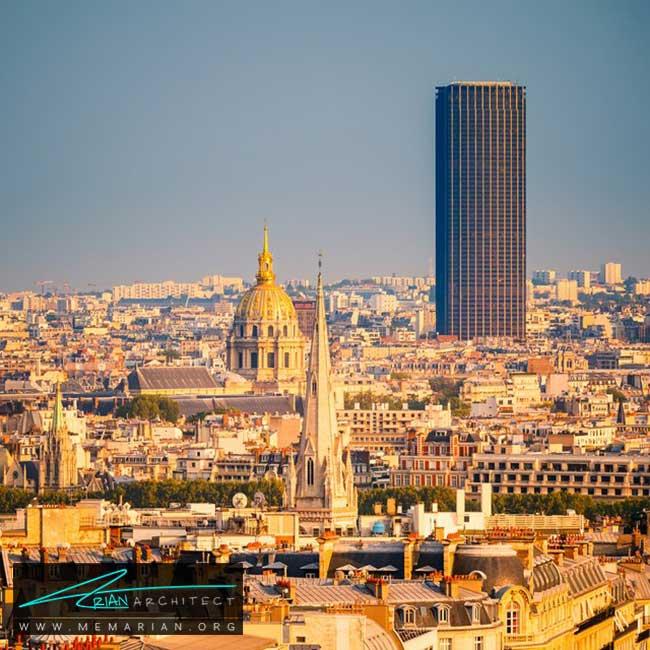 ساختمان مونپارنس پاریس - 30 مورد از زشت ترین آسمان خراش ها در جهان
