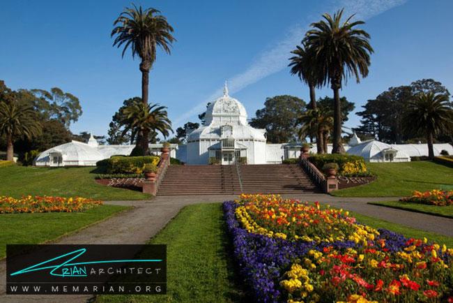 کنسرواتوار گل - 5 نمونه از بهترین ساختمان ها با معماری سبک ویکتوریا در سان فرانسیسکو