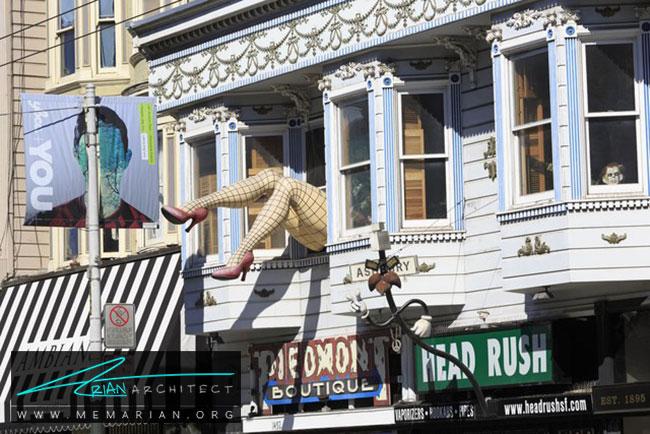 هیت اشبوری - 5 نمونه از بهترین ساختمان ها با معماری سبک ویکتوریا در سان فرانسیسکو