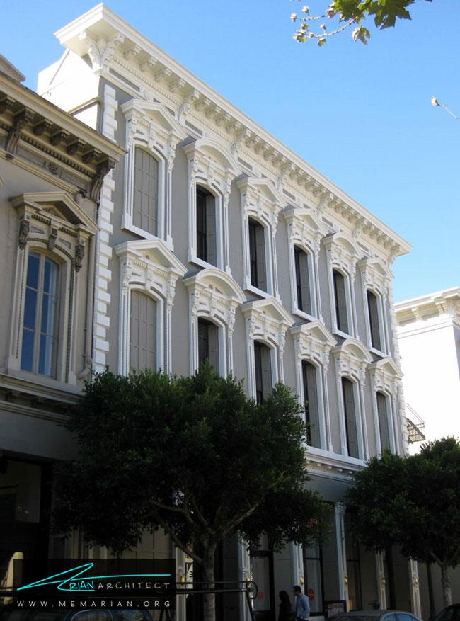 ساختمان هتالینگ - 5 نمونه از بهترین ساختمان ها با معماری سبک ویکتوریا در سان فرانسیسکو