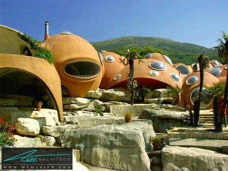 خانه شگفت انگیز حبابی، فرانسه - خانه شگفت انگیز