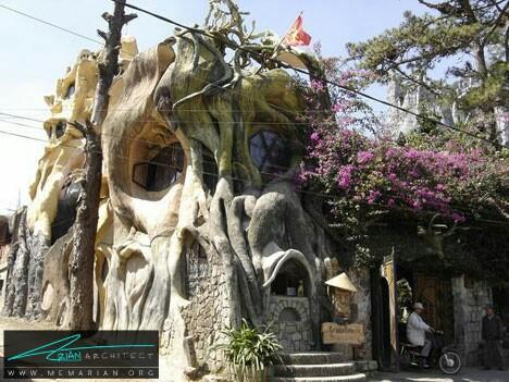 خانه دیوانگی ، ویتنام - خانه شگفت انگیز