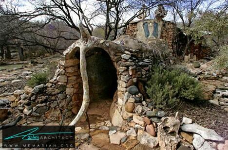 خانه مجسمه ای الفانت، آریزون - خانه شگفت انگیز