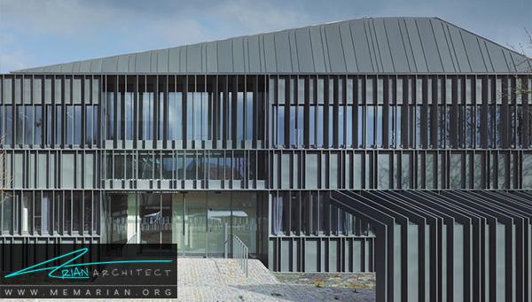 مرکز بهداشتنوزای توسطگروه معماریa+ samueldelmas, فرانسه - معماری سقف خارجی