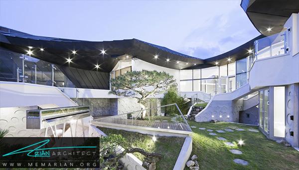 معماری خانهگا اون جا توسطگروه معماری ایروج, کره جنوبی -معماری سقف خارجی