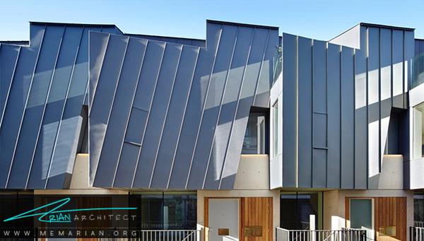 گادسون استریت توسطگروه معماریادگلای دیزاین, لندن - معماری سقف خارجی