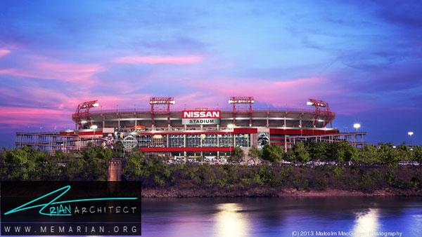 استادیوم نیسان ژاپن - معماری استادیوم جام جهانی