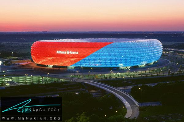 استادیوم الیانس ارنا - معماری استادیوم جام جهانی